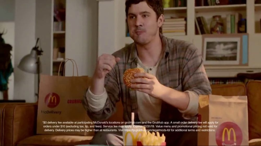 McDonald's TV Commercial, 'Grubhub: Big Night In'