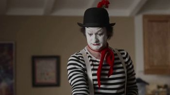 GEICO Renters Insurance TV Spot, 'A Mime Helps with the Chores'