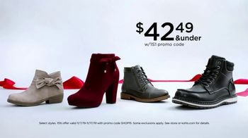 Kohl's TV Spot, 'Veterans Day: Elizabeth and James, Boots and Kitchen Electrics' - Thumbnail 4