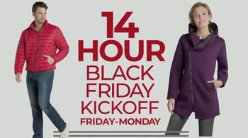 Stein Mart 14 Hour Black Friday Kickoff TV Spot, 'Apparel, Fine Jewelry and Kids'