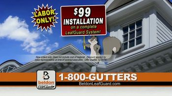 Beldon LeafGuard $99 Installation Sale TV Spot, 'Magic Happens'