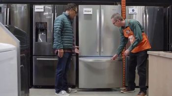 The Home Depot Black Friday Savings TV Spot, 'Right Away: Whirlpool Stainless Steel Kitchen Package' - Thumbnail 4