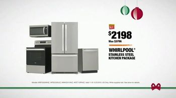 The Home Depot Black Friday Savings TV Spot, 'Right Away: Whirlpool Stainless Steel Kitchen Package' - Thumbnail 7