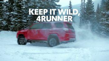 Toyota 4Runner TV Spot, 'Dear Snowboard' [T1]