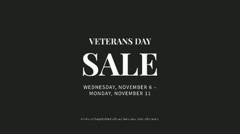 JoS. A. Bank Veterans Day Sale TV Spot, 'Up to 60 Percent Off' - Thumbnail 10