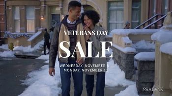 JoS. A. Bank Veterans Day Sale TV Spot, 'Up to 60 Percent Off' - Thumbnail 2