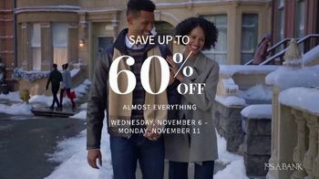 JoS. A. Bank Veterans Day Sale TV Spot, 'Up to 60 Percent Off' - Thumbnail 4