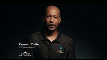 Comcast Careers TV Spot, 'Meet Ken: Father, U.S. Navy Veteran and a Comcast Employee' - Thumbnail 1