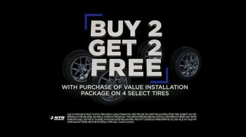 National Tire & Battery (NTB) Black Friday TV Spot, 'Buy Two, Get Two and $19.99 Oil Change' - Thumbnail 4