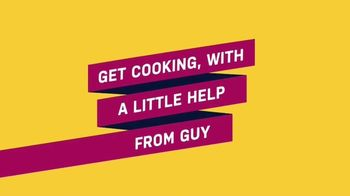 Food Network Kitchen App TV Spot, 'With a Little Help From Guy' - Thumbnail 1