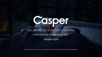 Casper TV Spot, 'Delivering Better Sleep: 10 Percent' - Thumbnail 10