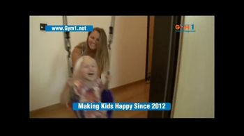 Gym1 Indoor Playground TV Spot, 'Swing, Climb, Play INDOORS' - Thumbnail 1