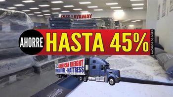 American Freight Precios Más Bajos del Año TV Spot, 'Juegos de colchones y recamaras' [Spanish] - Thumbnail 1