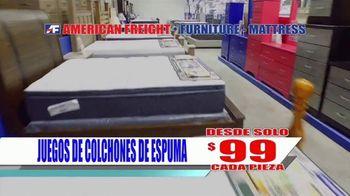 American Freight Precios Más Bajos del Año TV Spot, 'Juegos de colchones y recamaras' [Spanish] - Thumbnail 3