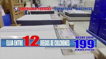 American Freight Precios Más Bajos del Año TV Spot, 'Juegos de colchones y recamaras' [Spanish] - Thumbnail 4
