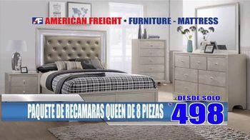 American Freight Precios Más Bajos del Año TV Spot, 'Juegos de colchones y recamaras' [Spanish] - Thumbnail 5