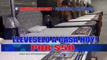 American Freight Precios Más Bajos del Año TV Spot, 'Juegos de colchones y recamaras' [Spanish] - Thumbnail 6