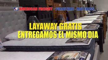 American Freight Precios Más Bajos del Año TV Spot, 'Juegos de colchones y recamaras' [Spanish] - Thumbnail 7