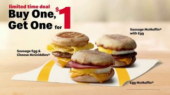 McDonald's TV Spot, 'Better Way to Breakfast: Buy One, Get One for $1' - Thumbnail 6