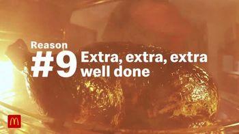 McDonald's TV Spot, 'Reason #9: Extra, Extra, Extra Well Done' - Thumbnail 2