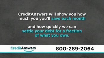 CreditAnswers Debt Rescue Program TV Spot, 'Settle Debt for a Fraction' - Thumbnail 4