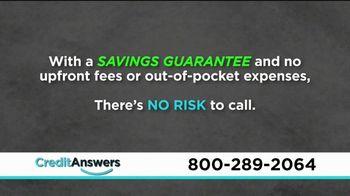 CreditAnswers Debt Rescue Program TV Spot, 'Settle Debt for a Fraction' - Thumbnail 5