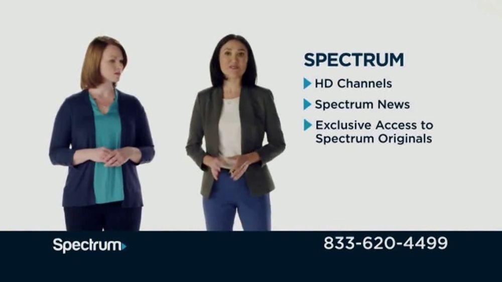 Spectrum TV + Internet TV Commercial, 'Comparison Speeds: Satellite'