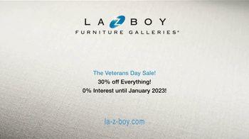 La-Z-Boy Veterans Day Sale TV Spot, 'Special Piece: 30 Percent Off' - Thumbnail 10