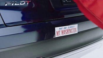 Honda Pilot TV Spot, 'Climbing Mount Washington' [T2] - Thumbnail 7