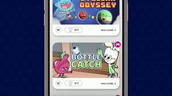 Cartoon Network Arcade App TV Spot, 'Apple & Onion: Bottle Catch' - Thumbnail 2