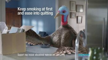 Chantix TV Spot, 'It's Time to Quit Slow Turkey' - Thumbnail 3