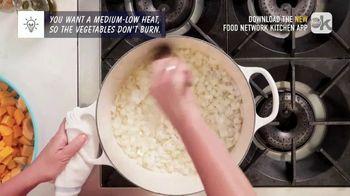 Food Network Kitchen App TV Spot,  'Butternut Squash Soup' Featuring Amanda Freitag - Thumbnail 4