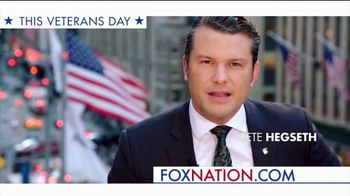 Fox Nation TV Spot, 'Supporting Our Vets' Featuring Pete Hegseth - 87 commercial airings