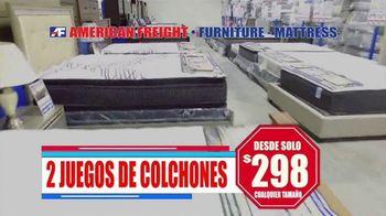American Freight TV Spot, 'Ahorra hasta 45 por ciento de descuento' [Spanish] - Thumbnail 2