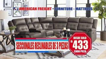 American Freight TV Spot, 'Ahorra hasta 45 por ciento de descuento' [Spanish] - Thumbnail 5