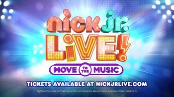 Nick Jr. Live! Move to the Music TV Spot, 'Coming Together' - Thumbnail 10