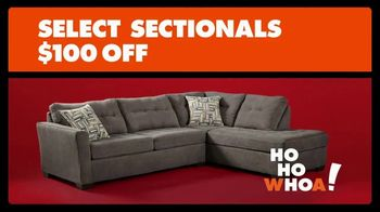 Big Lots TV Spot, 'Holiday Big: Sectionals' - 127 commercial airings