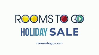 Rooms to Go Holiday Sale TV Spot, 'Leather Living Room' - Thumbnail 8