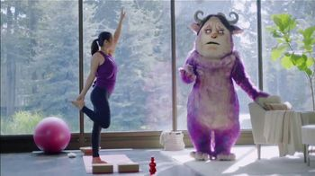 POM TV Spot, 'Get Rid of Your Worry Monster: Yoga' - 3092 commercial airings
