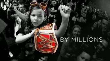 WWE Shop TV Spot, 'Inspired by Millions: $12 Tees' - 1 commercial airings