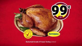 Winn-Dixie TV Spot, 'Bring the Love: Frozen Turkey and Ground Chuck' - Thumbnail 4