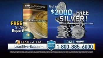 Lear Capital TV Spot, 'Silver to Gold Ratio: Free Silver Report' - Thumbnail 7