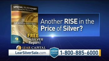 Lear Capital TV Spot, 'Silver to Gold Ratio: Free Silver Report' - Thumbnail 4
