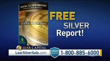 Lear Capital TV Spot, 'Silver to Gold Ratio: Free Silver Report' - Thumbnail 6
