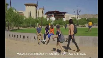 University of Texas at El Paso TV Spot, 'No Compromise' - Thumbnail 1