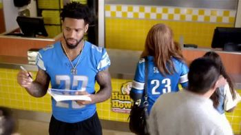 Hungry Howie's Stuffed Flavored Crust Pizza TV Spot, 'Flavor Fanatic' Featuring Darius Slay