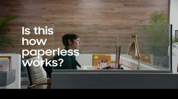Samsung Tab S6 TV Spot, 'Paperless Workflow Solutions: Electronic Singature' - 149 commercial airings