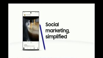 Samsung Galaxy Note10 TV Spot, 'Business Video Solutions: Coffee Shop' - Thumbnail 9