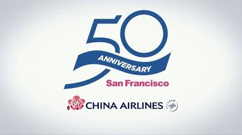 China Airlines TV Spot, '50th Anniversary of San Francisco to Taipei Service' - Thumbnail 6