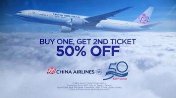 China Airlines TV Spot, '50th Anniversary of San Francisco to Taipei Service' - Thumbnail 5